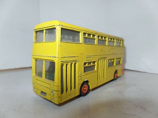 Dinky 291 Leyland  Atlantean Bus Orange & Yellow UB